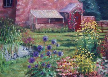 Garden Scene, Sarah Colgate ©