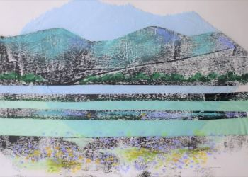 Mountain scene, Sarah Colgate ©