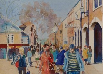 Scotch Street (north), Carlisle, Sarah Colgate ©