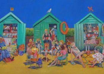 Beach Huts, Sarah Colgate ©